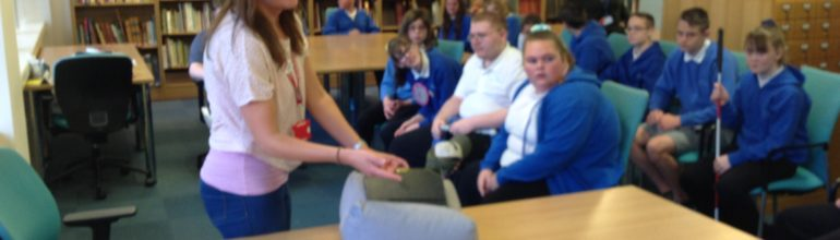 Pen Y Bryn School visits West Glamorgan Archives